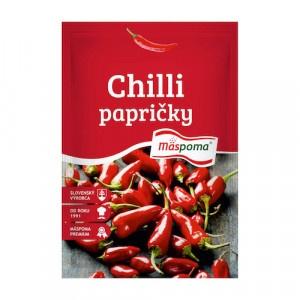 Korenie Chilli papričky celé 7g Mäspoma 10