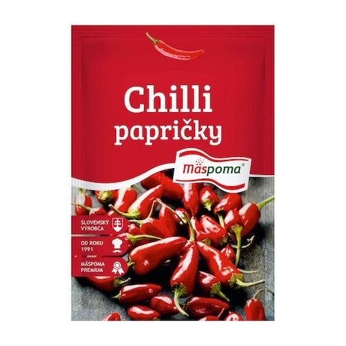 Korenie Chilli papričky celé 7g Mäspoma 1