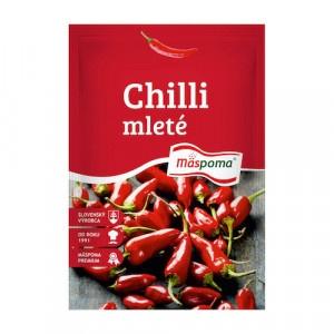 Korenie Chilli papričky mleté 20g Mäspoma 20