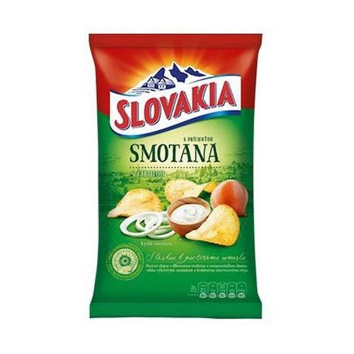 CHIPS Slovakia s príchuťou smotana s cibuľou 140 g 1