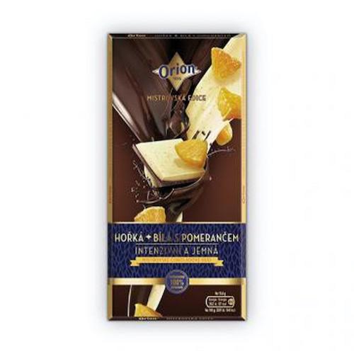 Čokoláda ORION horká 68% pomaranč 100g 1