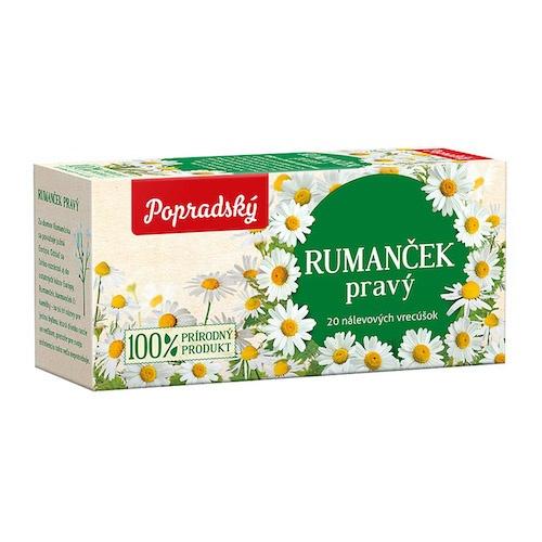 Čaj BOP Rumanček pravý bylinný čaj 24g 1