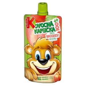 Detská výživa jablko broskyňa kapsička KUBÍK 100g 8