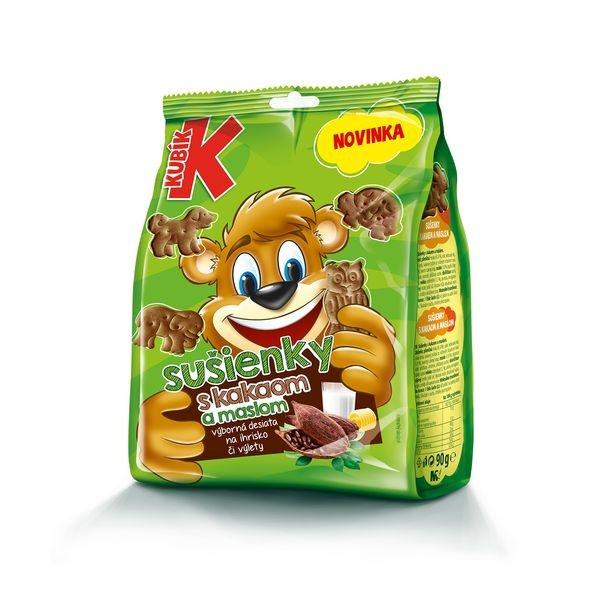 Kubík Sušienky s kakaom a maslom 90 g 1