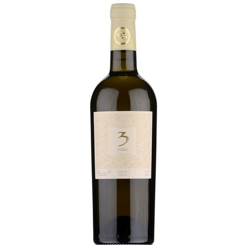 Víno b. 3Passo Bianco suché BIO 0,75l Tal. 1