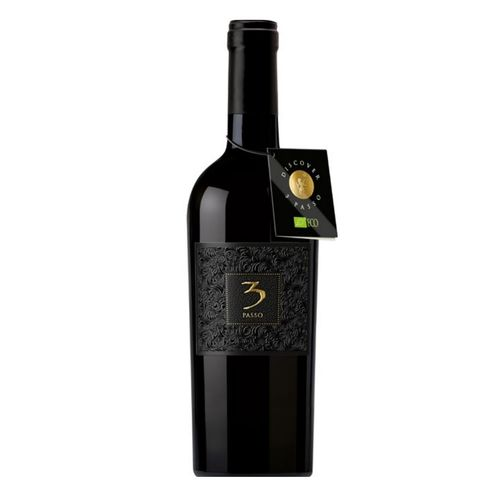 Víno č. 3Passo Rosso suché BIO 0,75l Tal. 1