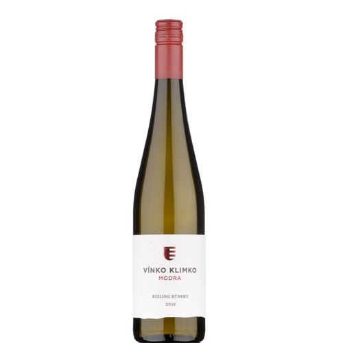 Víno b. Rizling rýnsky suché Vínko Klimko 0,75l SK 1
