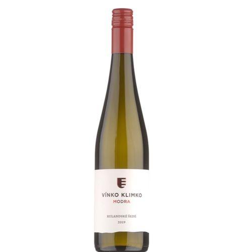 Víno b. Rulandské šedé suché Vínko Klimko 0,75l SK 1