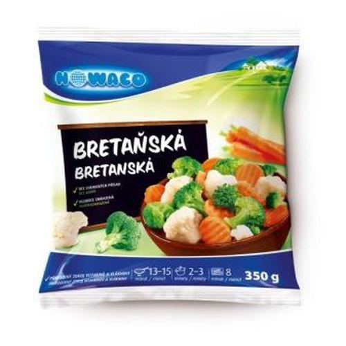 Mrazená zmes bretanská zeleninová NOWACO 350g 1