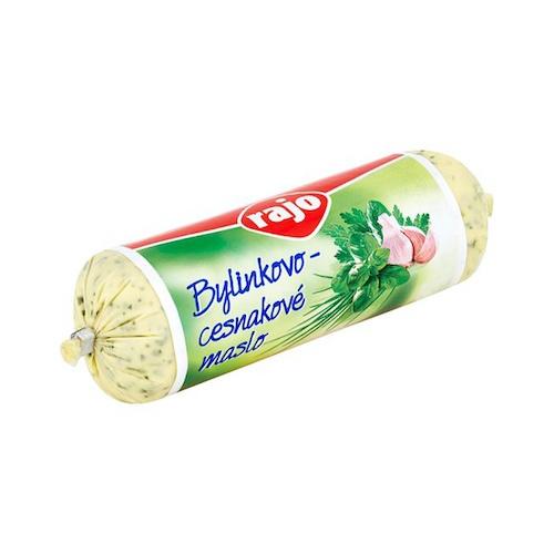 Bylinkovo-cesnakové maslo 125 g RAJO 1