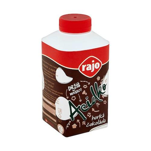 Acidko Horká čokoláda RAJO 450g VÝPREDAJ 1