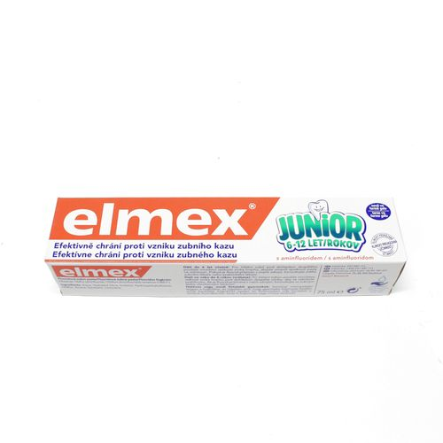 elmex Junior Detská zubná pasta 75 ml 6-12 r. 1