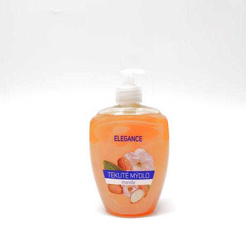 Mydlo tekuté Elegance Mandľa dávkovač 500ml 1