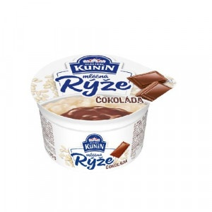 Mliečna ryža čokoláda KUNÍN 175g 3