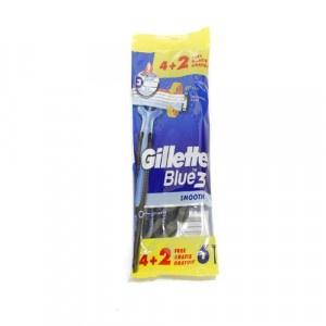 Gillette Blue3 Smooth jednorázový hol.strojček 6ks 5
