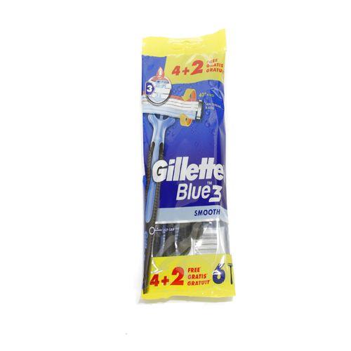 Gillette Blue3 Smooth jednorázový hol.strojček 6ks 1