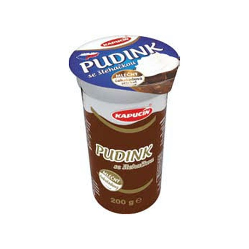 Puding KAPUCÍN so šľahačkou čokoláda 200g 1