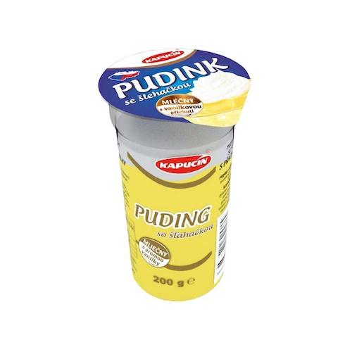 Puding KAPUCÍN so šľahačkou vanilka 200g 1