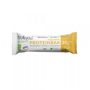 Fit4you Protein. tyčinka 30% Vanilka 60g 3