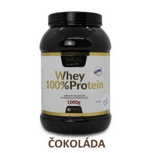 Fit4you WHEY PROTEIN 100% Čokoláda 1kg 5