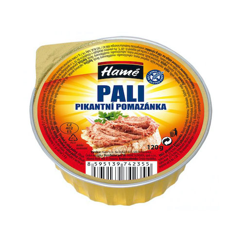 Paštéta Pali pikantná Hamé 120 g 1