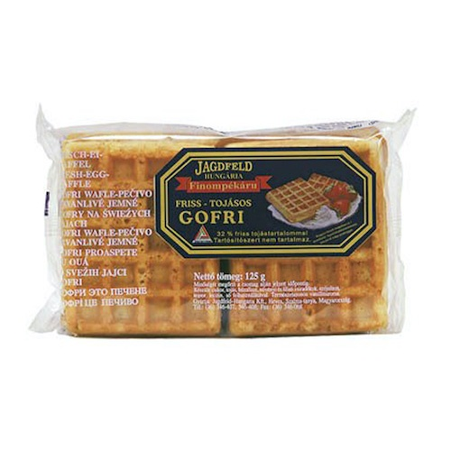 Wafle vaječné GOFRI 125 g 1