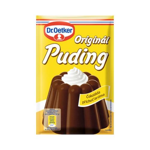 Puding Čokoladový 45g Dr. Oetker 1
