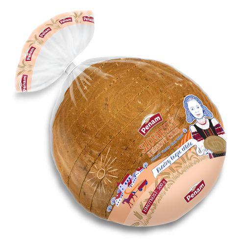 Chlieb Slovanský kváskový kráj. balený PENAM 500g 1