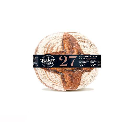 Chlieb čerstvý kváskový špaldový celý PENAM 650g 1