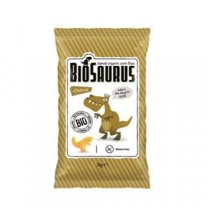 Snack pre deti kukuričný syrový BIO BIOSAURUS 50g 11