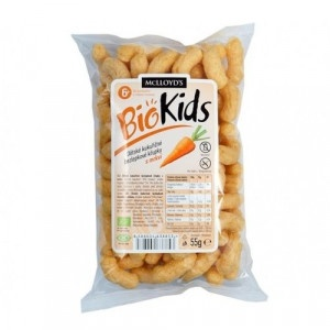 Chrumky pre deti bezglut. s mrkvou BIOKIDS 55g 7