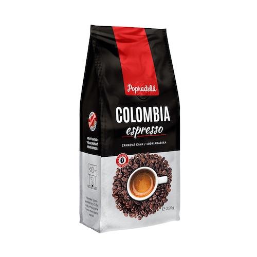 Káva BOP COLOMBIA ZRNO 250g 1