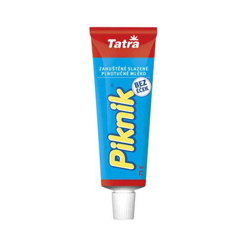 Piknik zahustené sladené mlieko TATRA 75g 1