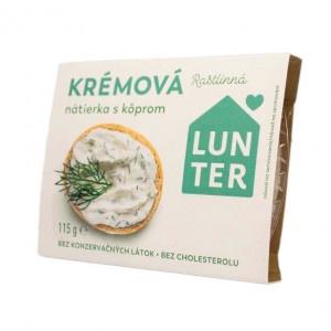 Nátierka sójová krémová s kôprom LUNTER 115g 11
