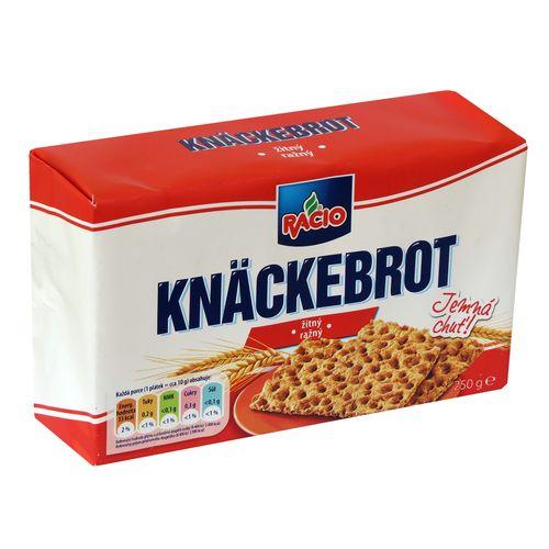 RACIO Knäckebrot ražný 250g 1