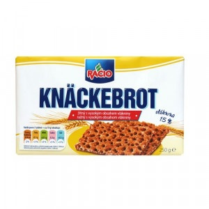RACIO Knäckebrot ražný s vlákninou 250g 6