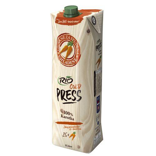 Džús karotkový 100% Rio Cold Press 1l 1