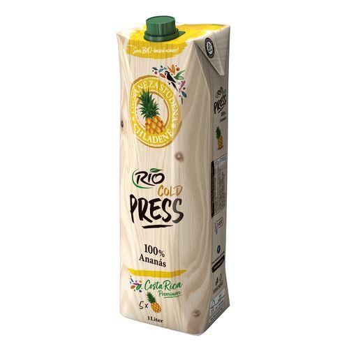 Džús ananásový 100% Rio Cold Press 1l 1