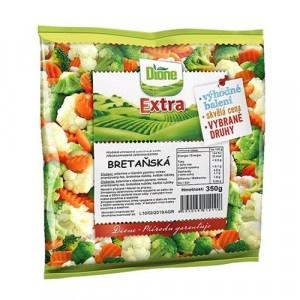 Mrazená zeleninová zmes bretánska Dione Extra 350g 4