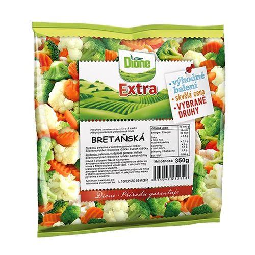 Mrazená zeleninová zmes bretánska Dione Extra 350g 1