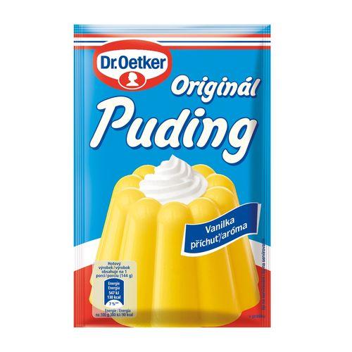Originál puding vanilka aróma 37g Dr. Oetker 1