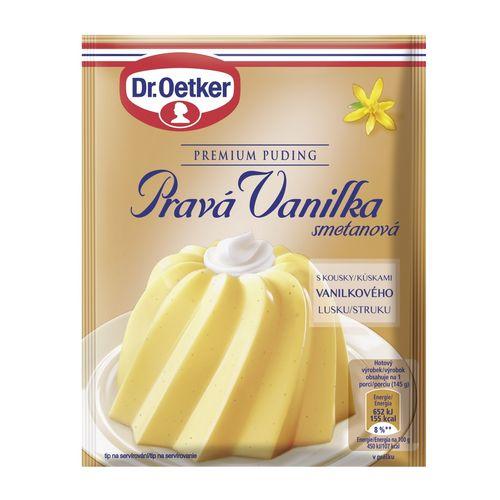 Premium puding Pravá vanilka smot. 40g Dr. Oetker 1