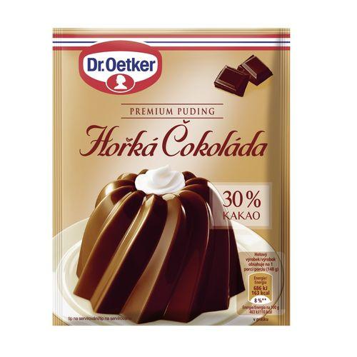 Premium puding Horká čok. 30%Kakaa 52g Dr. Oetker 1