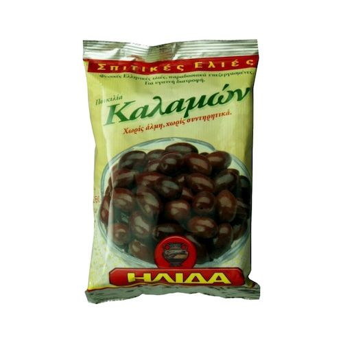 Olivy čierne s kôstkou KALAMATA ILIDA 250g 1