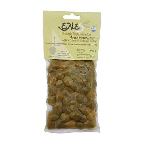 Olivy zelené bez kôstky ILIDA 100g 1