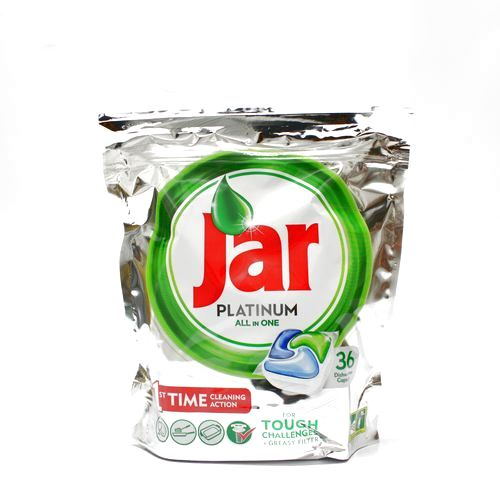 Kapsule do myčky JAR platinum green 36ks/bal. 1