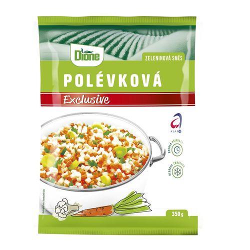 Mrazená zelen.zmes polievková exclusive Dione 350g 1