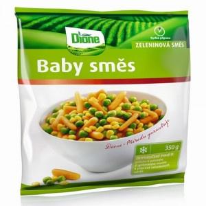 Mrazená zeleninová zmes Baby Dione 350g 7