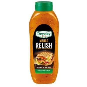 Omáčka Mango Relish DEVELEY 875ml 20