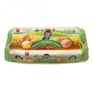 Vajcia z voľného výbehu tr.A M 10ks 3